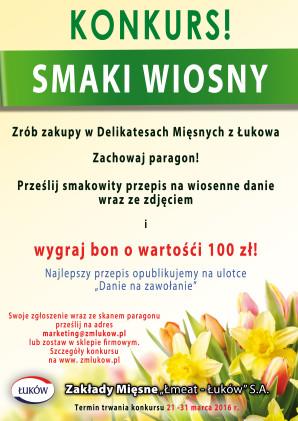 Konkurs Smaki WiosnyRGB